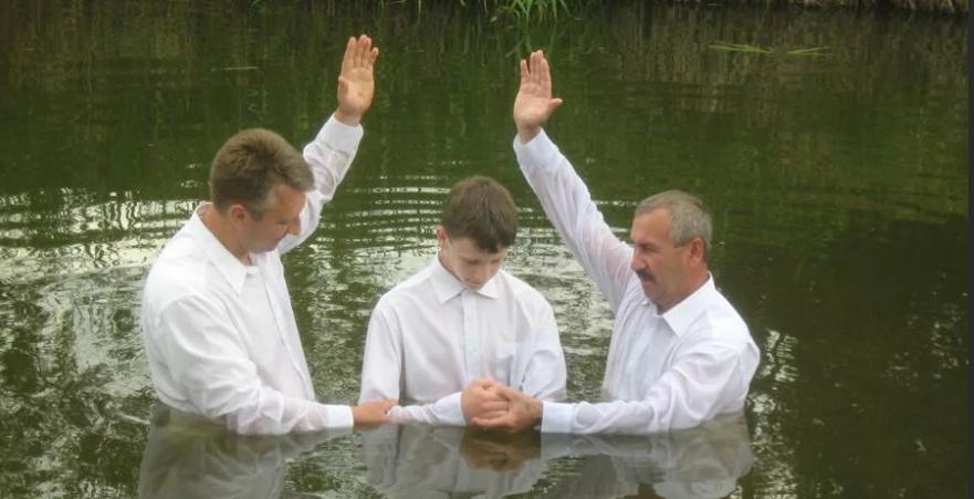 Обряд крещения баптистов, кто такие баптисты